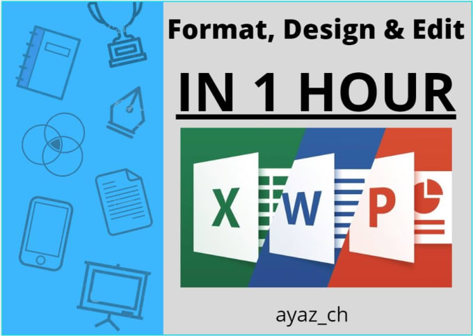 I will do excel data entry, word and all virtual assistant task for 2 hours