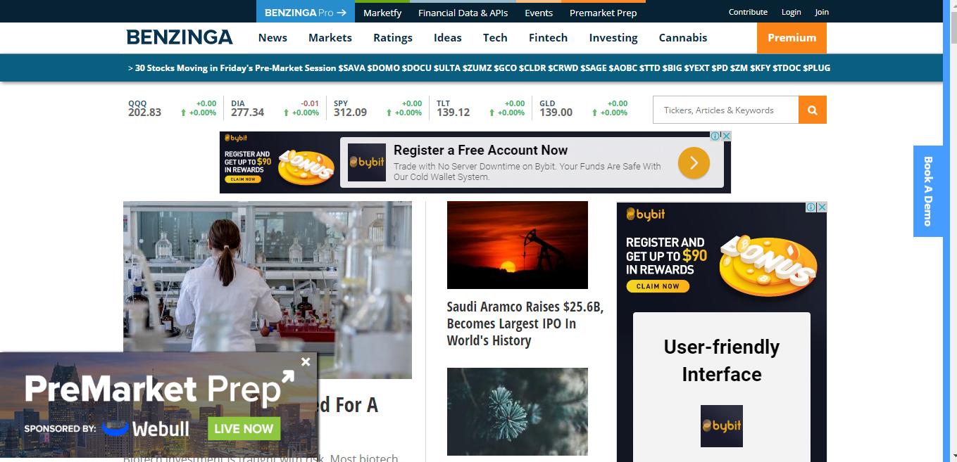 I will Do publish your article Da 84 benzinga com PR High premium website