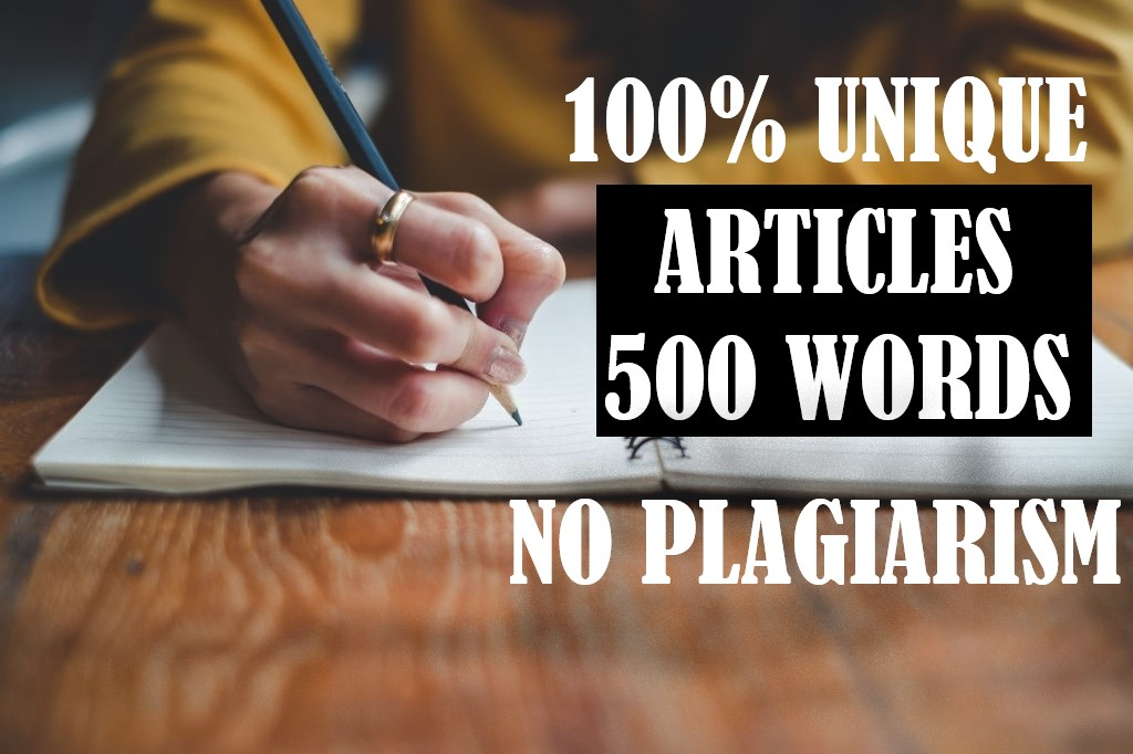 I will provide an orginal and unique 500 word article