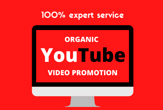 Organic YouTube Video Promotion With Safe Marketing