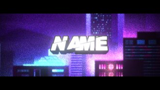 Short animation multicolor for intro and outro youtube, facebook, Instagram,... professionaly make