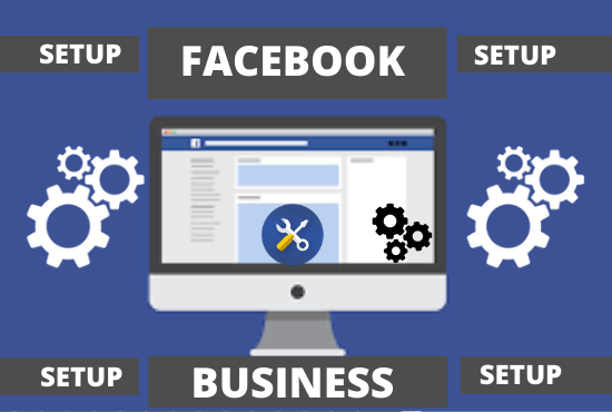 i will do setup facebook business page,  group and online store