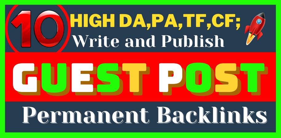 I'll do 10 H.Q. DA Do-Follow permanent Backlinks on reddit,  medium,  penzu,  diigo,  linkedin,  quora