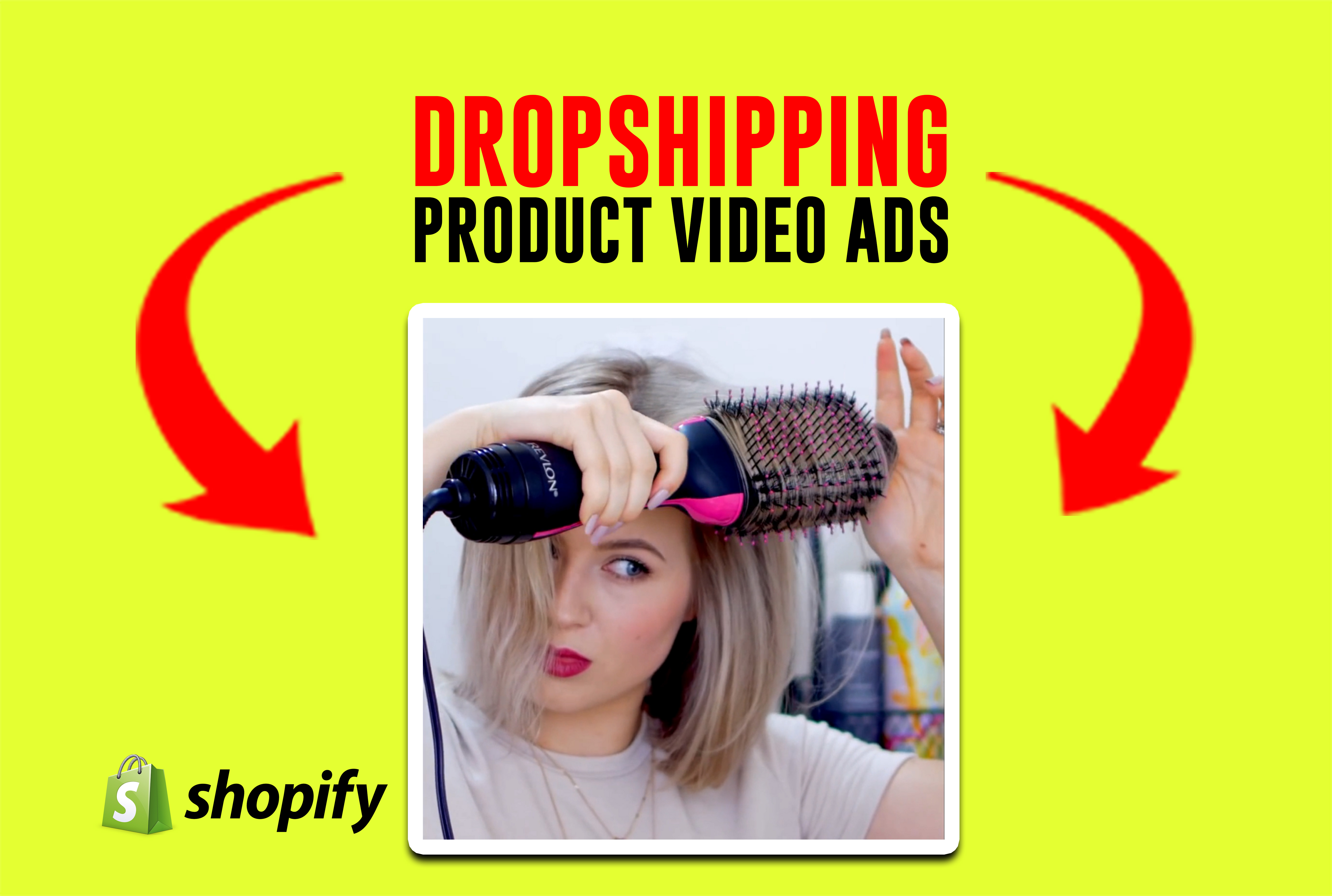 I will create dropshipping video ad or shopify facebook video ads