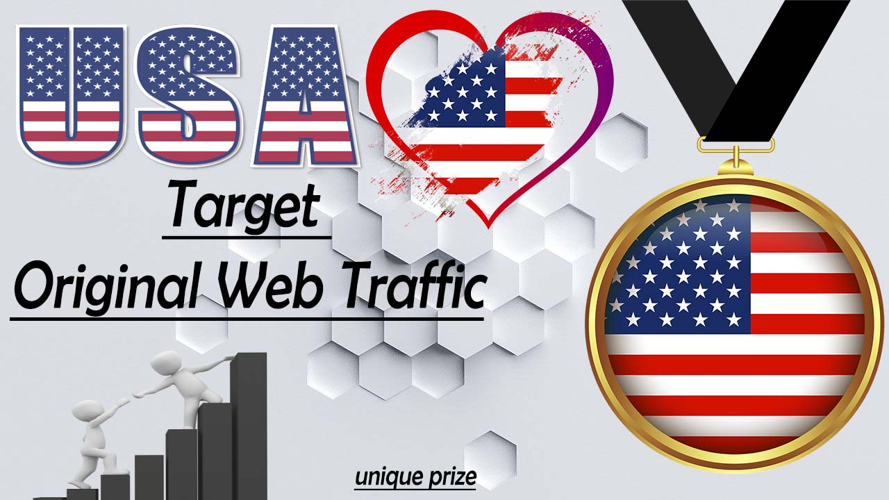 10,000 USA Targeted Traffic For Your Site.