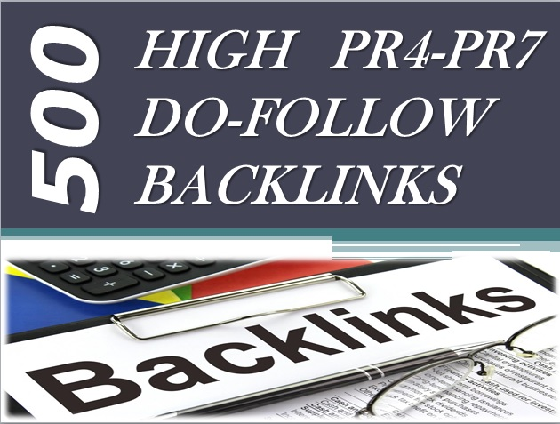 I will submit your website to 500 high PR dofollow backlinks