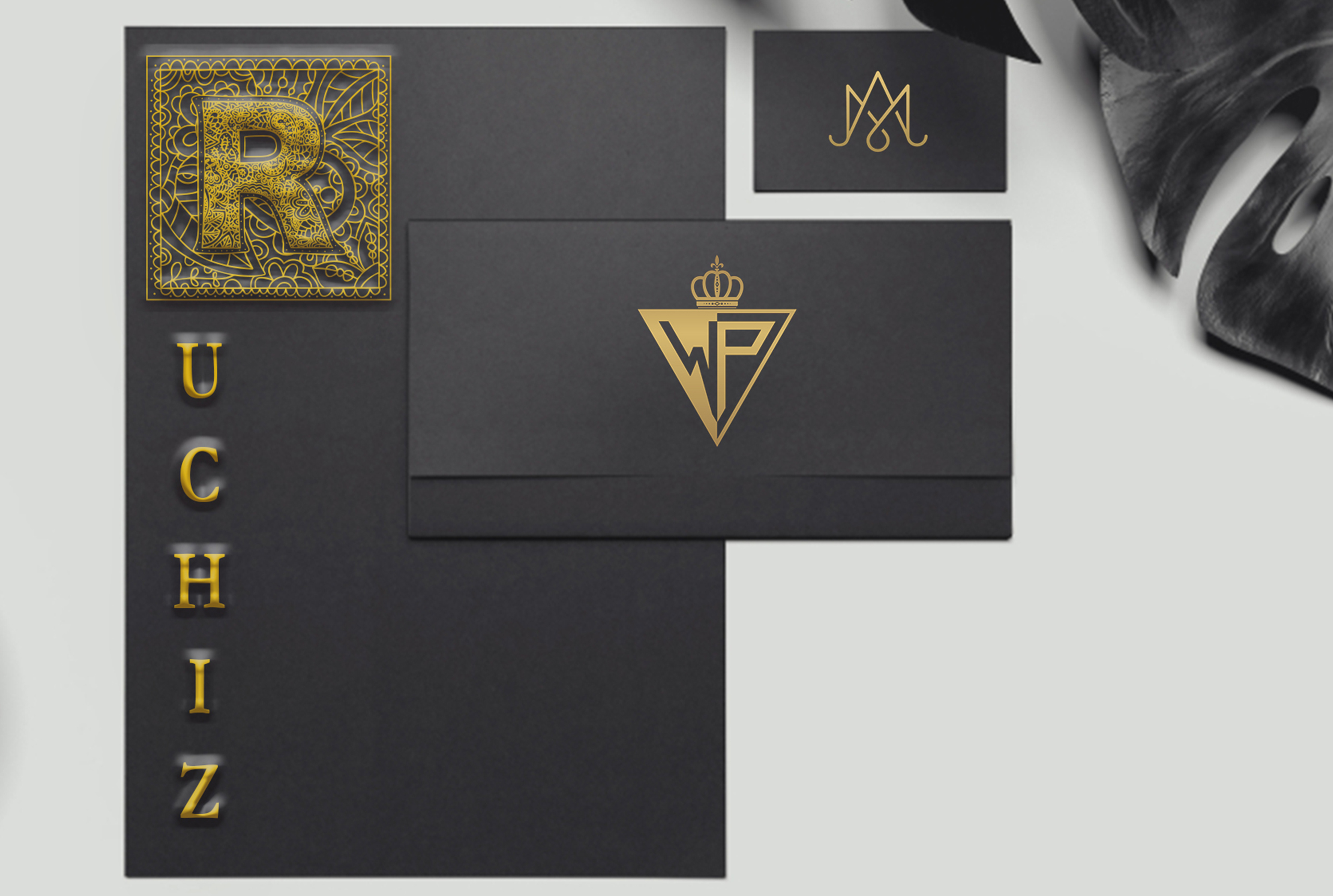 I Will Design An Award Worthy Luxury Initial Monogram Logo Within 4 Hours