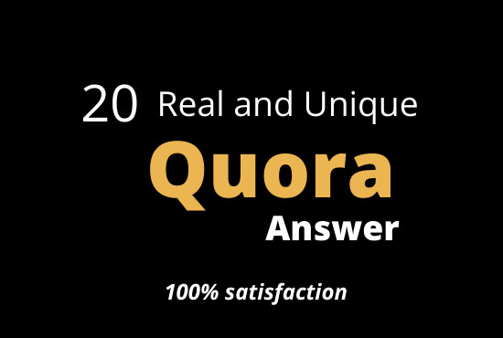 targeted traffic with answer 40 backlinks Quora answer