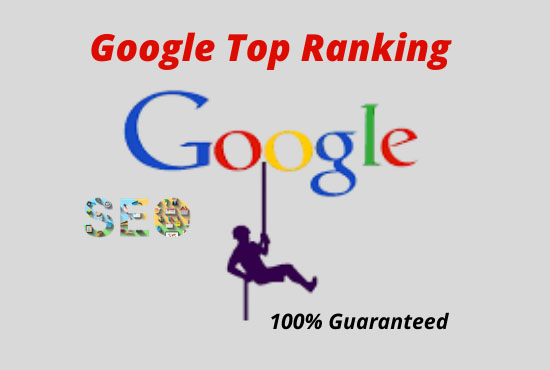 I will do complete seo of your website for 1st page ranking on google