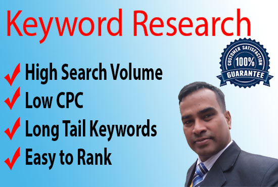 I will do excellent keyword research for your business