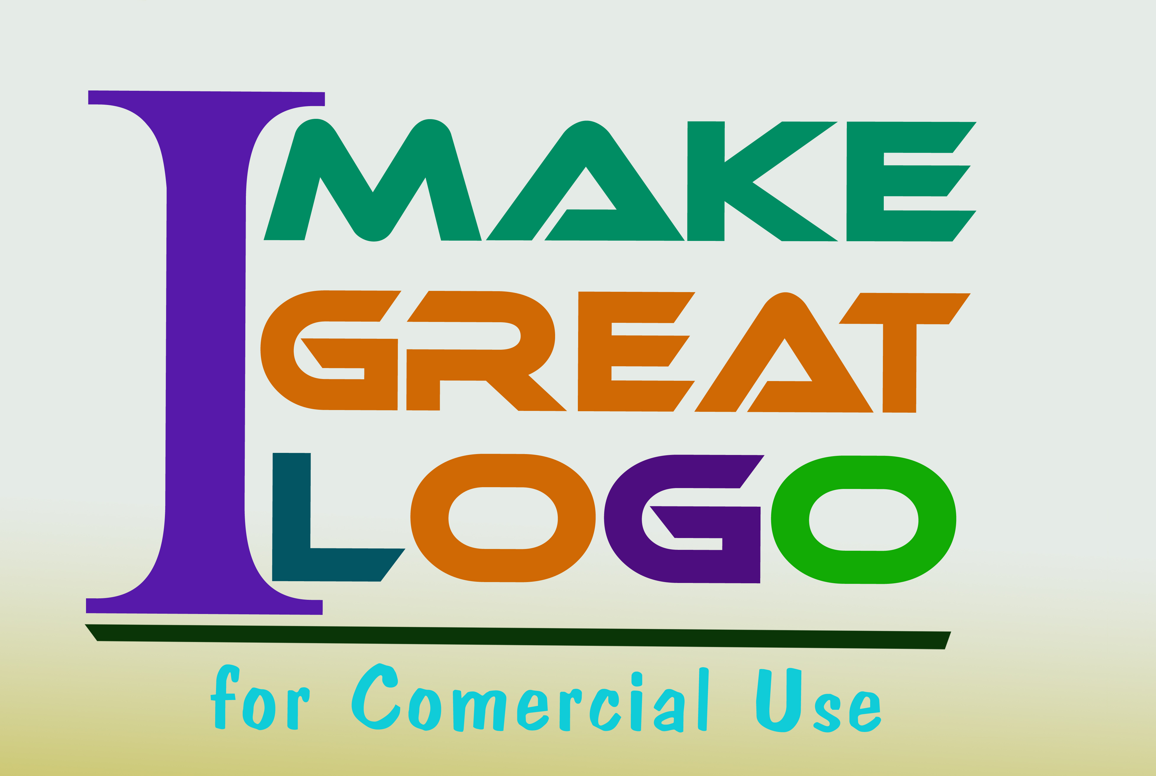 I will make a great and amazing logo design for you, for Commercial uses