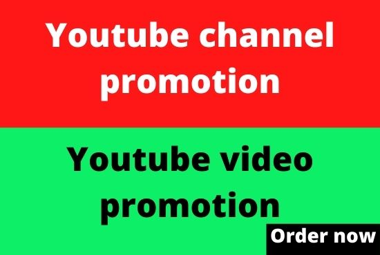 professionally do YouTube video promotion and marketing from social media