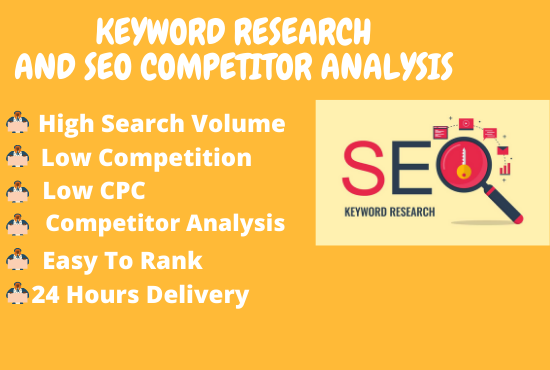 I will do excellent keyword research for boosting your business