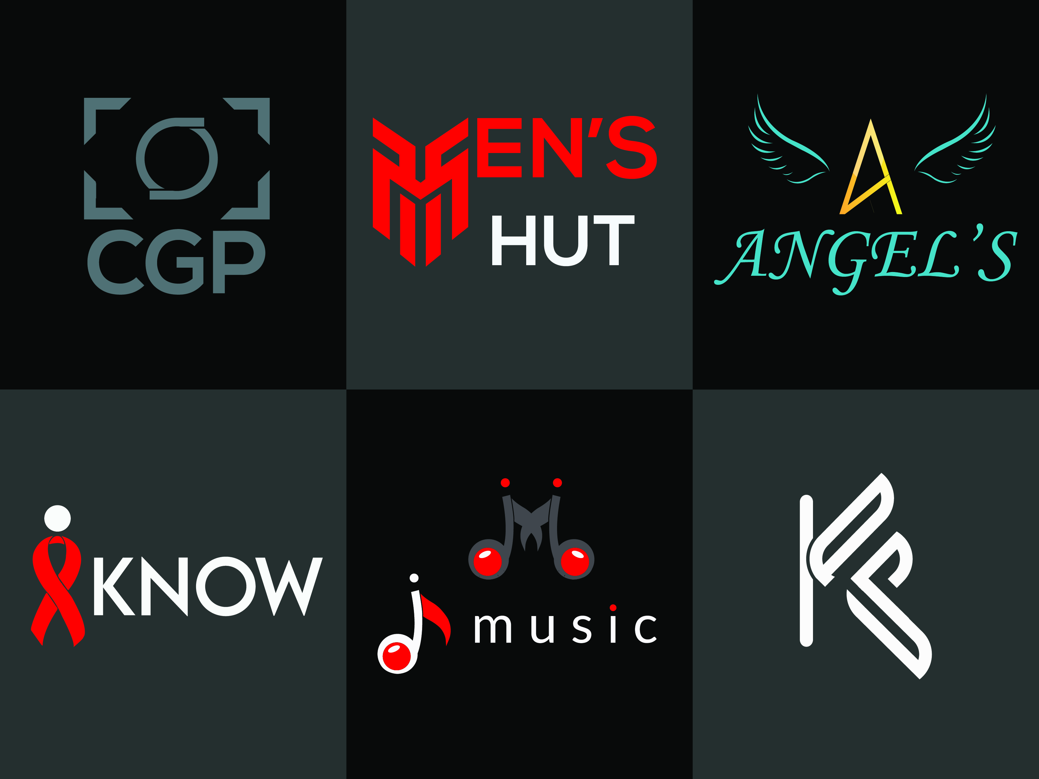 I will do modern minimalist and unique logo design in 24 hours