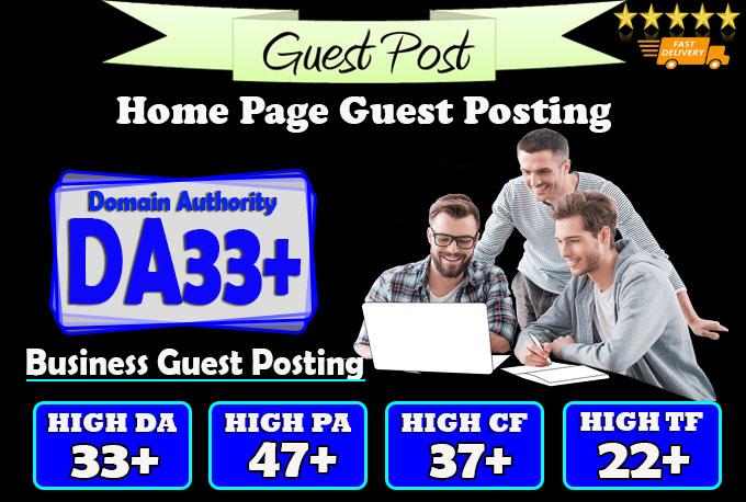 do guest post on da33 hq business blog