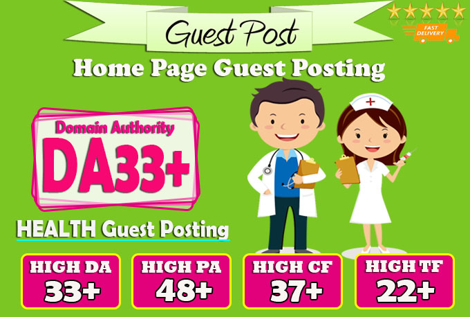 do guest post on da33 hq health blog
