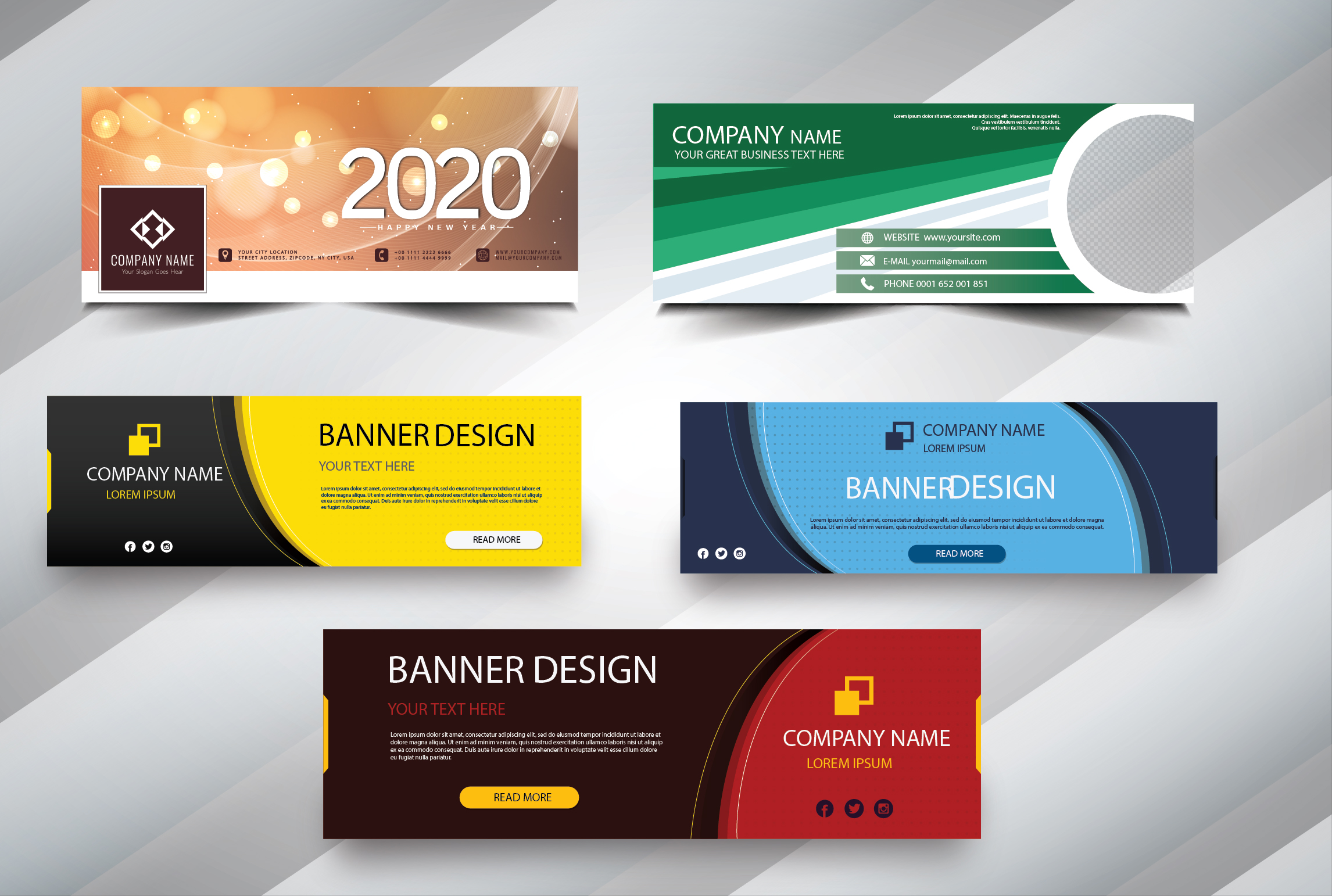 I will design eye catching youtube logo thumbnail facebook cover and banner