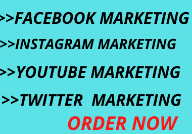 I will provide social media marketing marketing solution and create Facebook business page