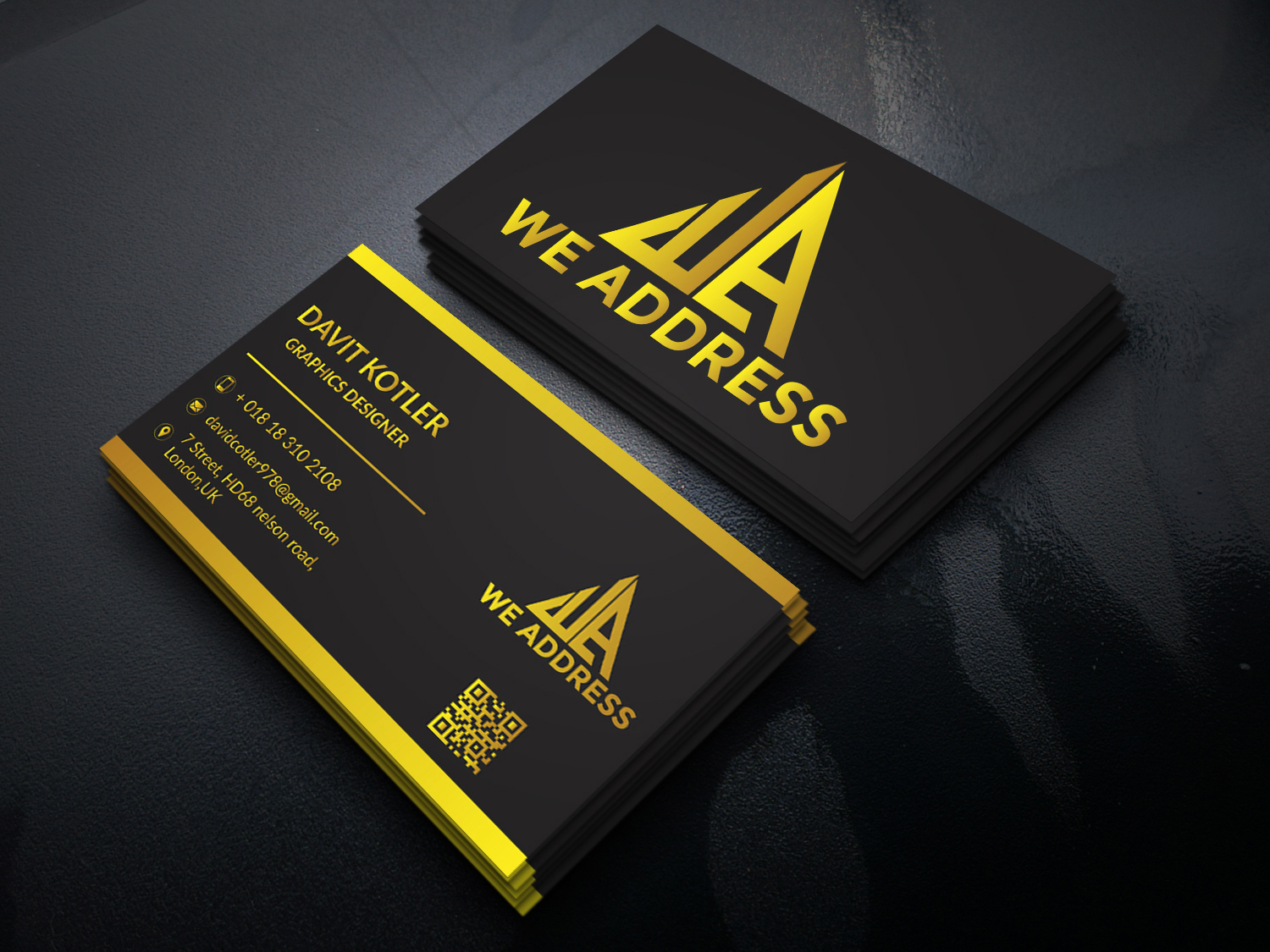 I will design modern business card letterhead stationery for you