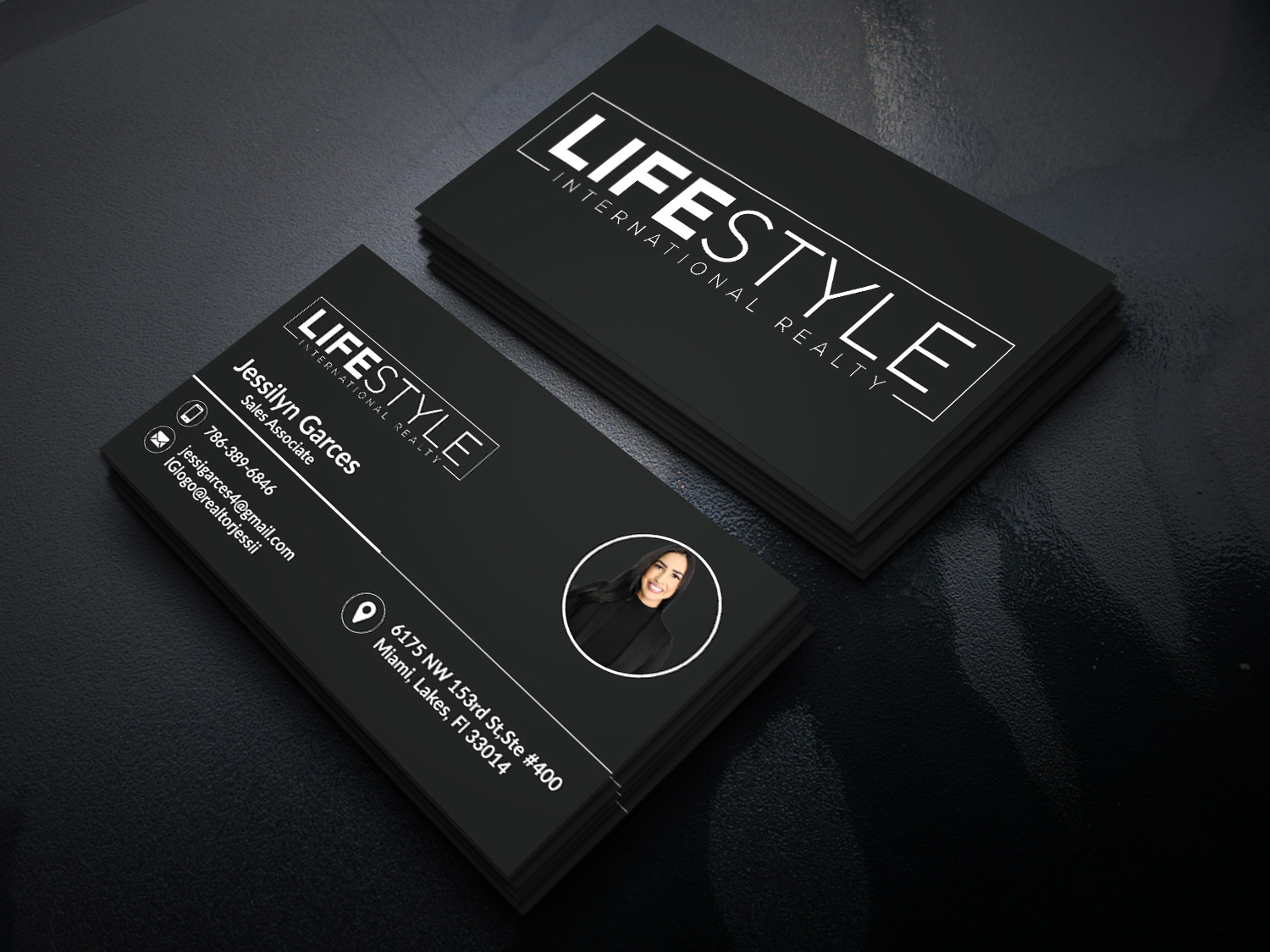 I will design luxury business card,  letterhead and stationery