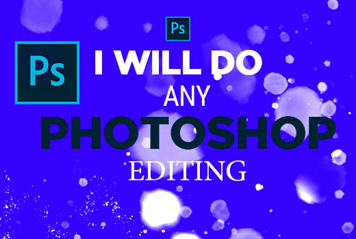 I will do photoshop edit and retouching within 4 hours