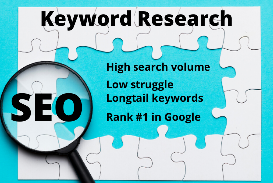 I will do efficient SEO keyword research that genuinely rank