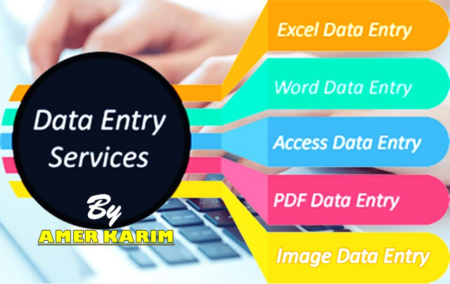 Data Entry Services MS Word,  MS Excel,  MS Access
