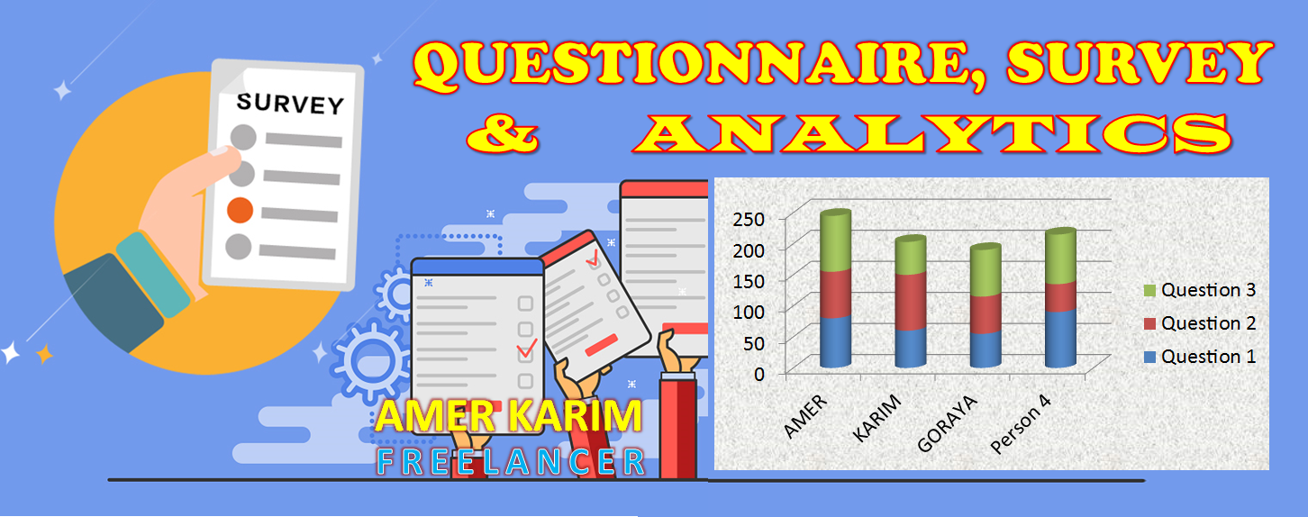 I Will Make Professional Questionnaire for Your Business.