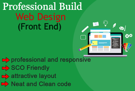 I will create a professional website for your business