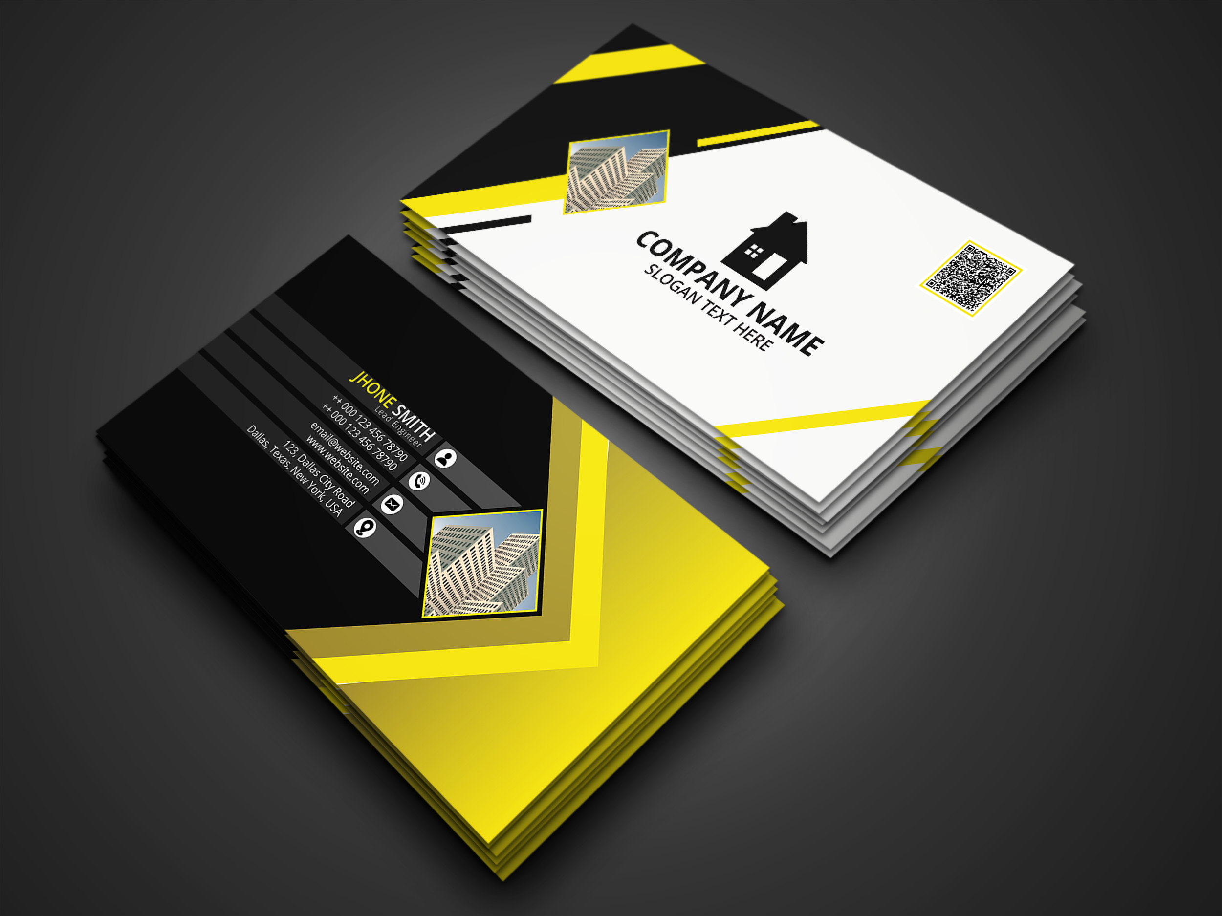I will create your business cards within 2 hours