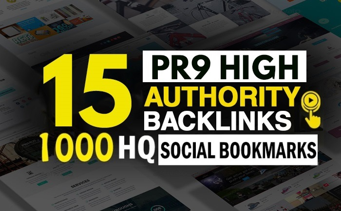 add15 PR7-9 High Authority And 1000 HQ Social Bookmarking