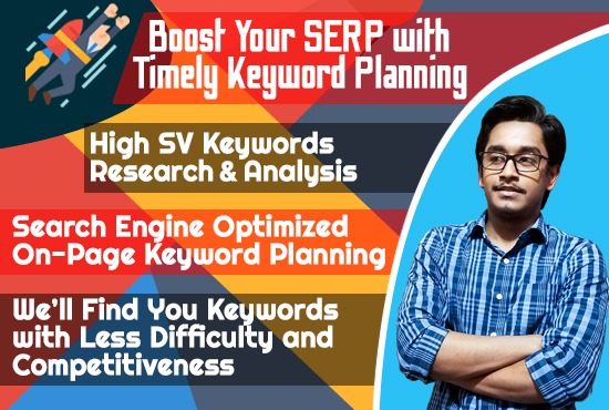Highly effective SEO,  keyword research and advance competitors analysis