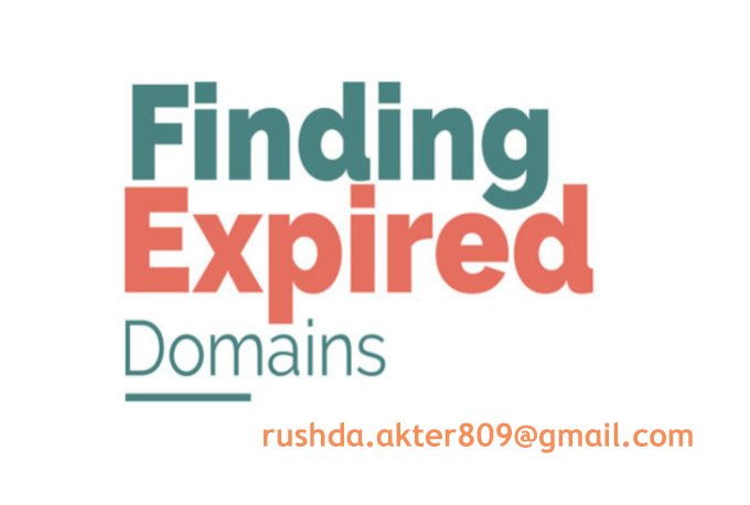 I will provide niche relevant expired domains