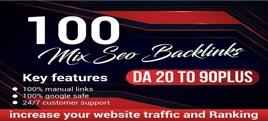 I will do 100 mix high quality seo backlinks