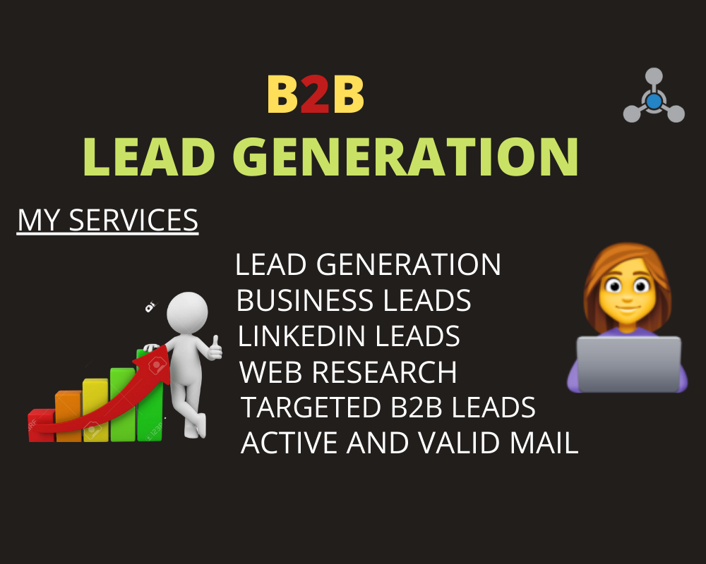 I will do b2b lead generation and targeted email for your business