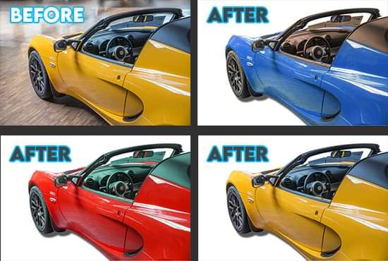 I will do photo retouch and background remove