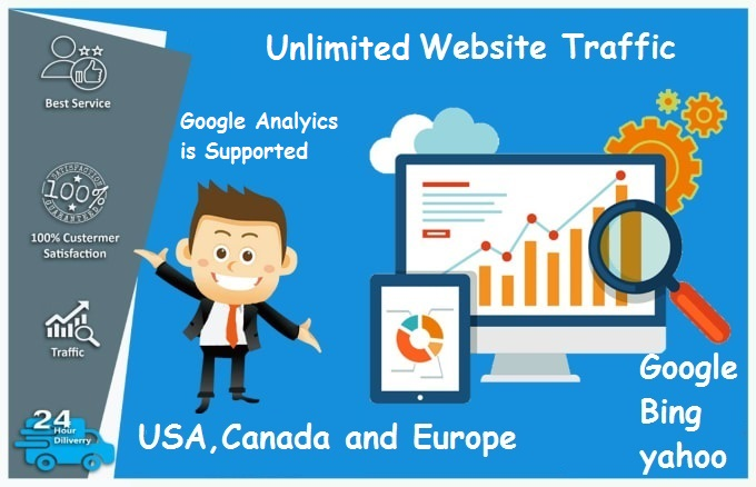 i will drive Unlimited keyword website traffic for 30 days
