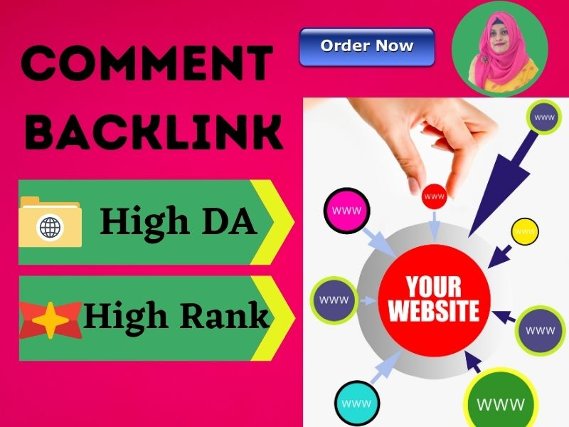 I will provide dofollow comment backlink with high da