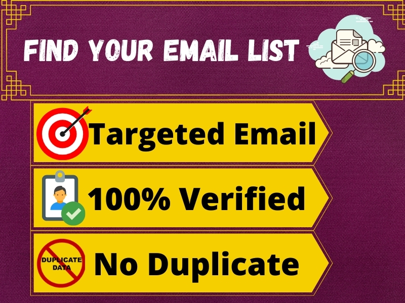 I will provide 10k USA email list