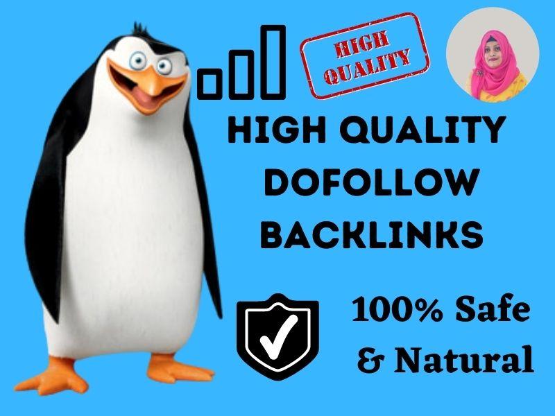 I will provide 10 high quality dofollow backlinks