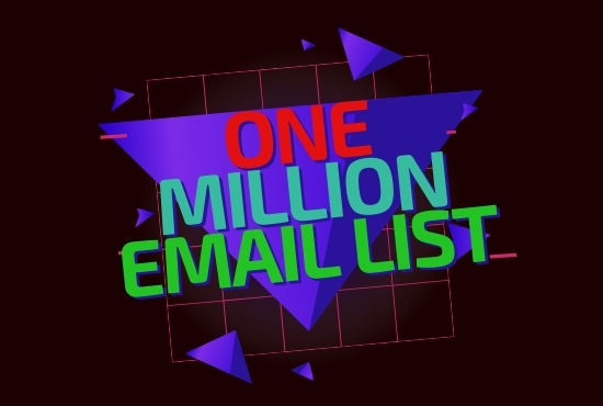 One million update Email list from USA