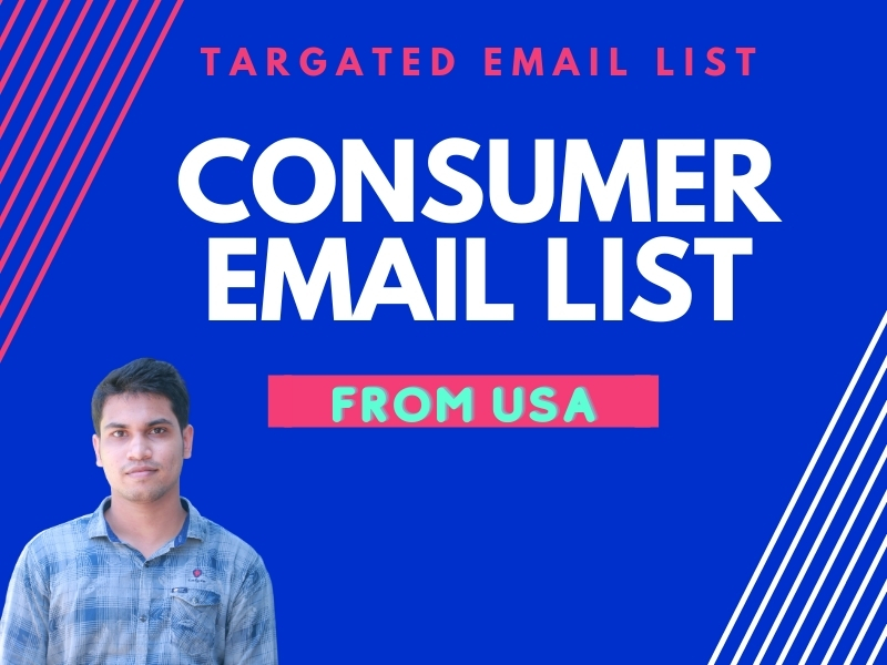 5k Consumer email list from USA