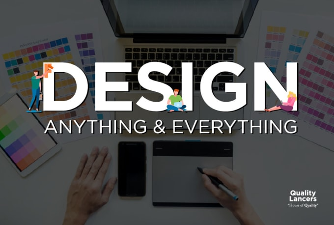 Create any graphic design for your brand or website