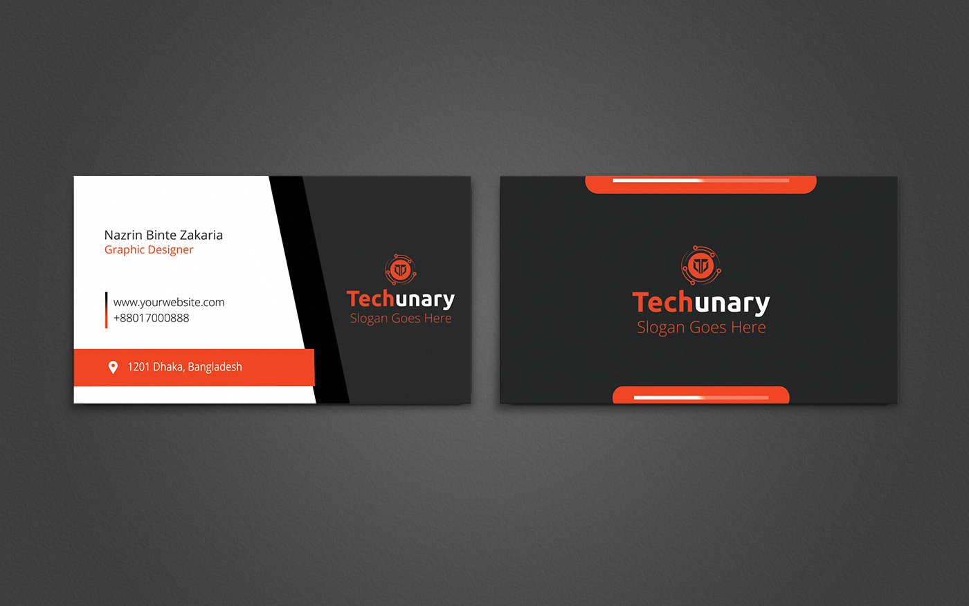 I will design a Awesome Business card for you in 2 hours
