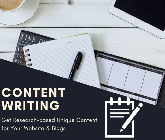 I will write creative web content for your business websites