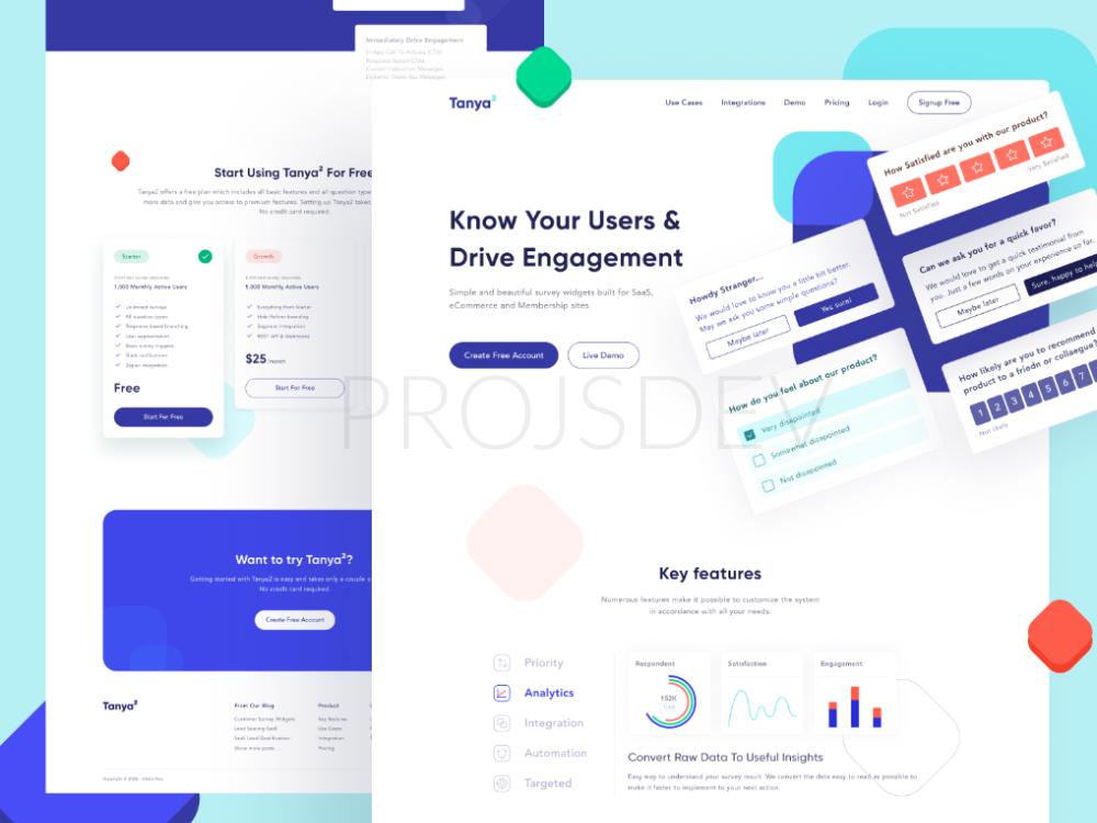 Build a stunning responsive website