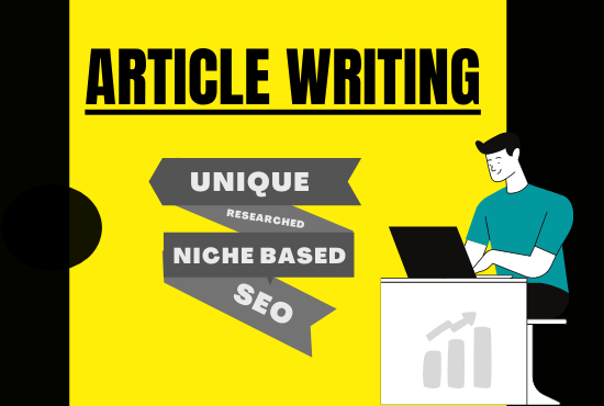 I will write 3 SEO friendly articles or blog post 4500 words