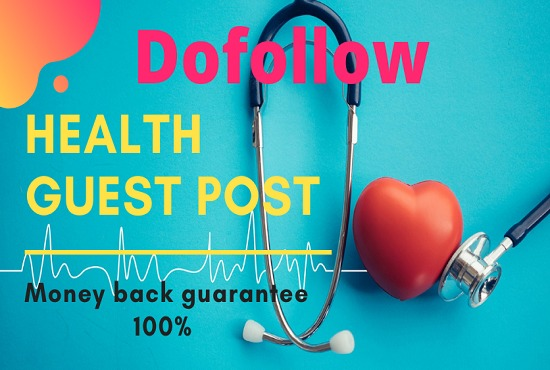 Write And Post An Article On Health,  Fitness,  Medical Related Blog Site