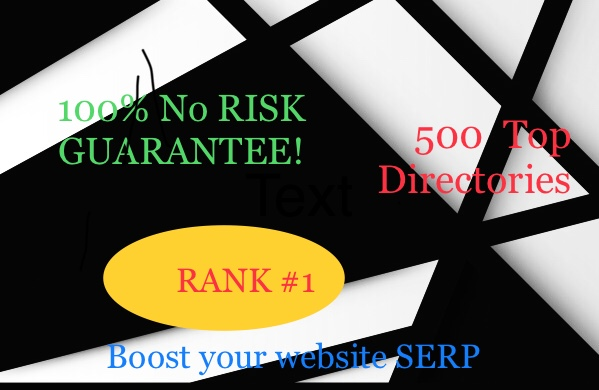 If you give a chance I will submit your website to 500 directories