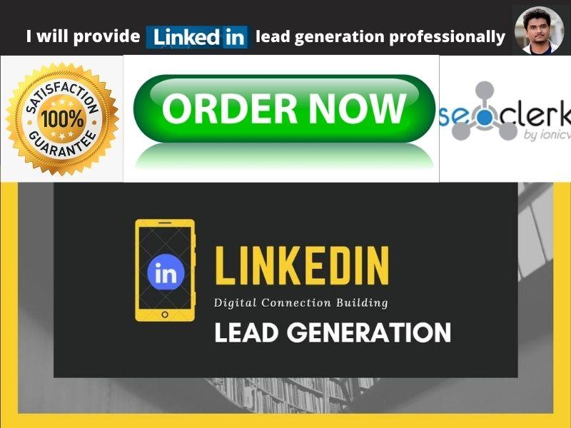 I will provide 200 LinkedIn lead generation